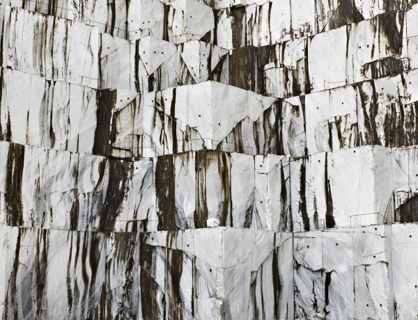 Edward Burtynsky, Carrara Marble Quarries, Cava di Canalgrande #1, Carrara, Italy, Howard Greenberg Gallery, 2019