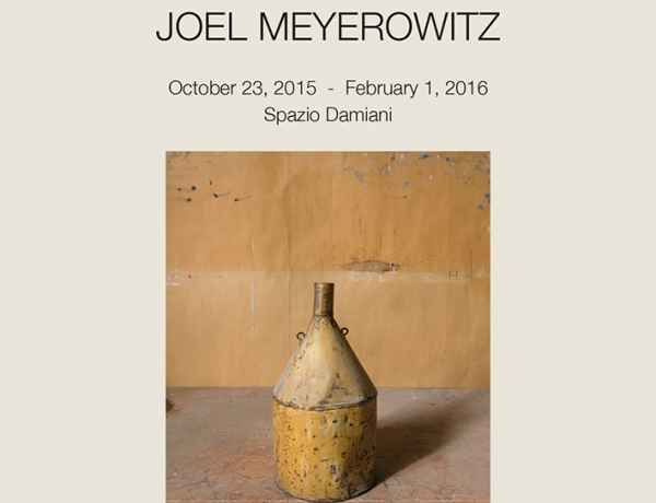 Joel Meyerowitz at Spazio Damiani: Morandi's Objects Exhibition