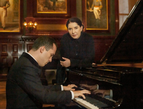 Marina Abramovic and Igor Levit's Variation on 'Goldberg' Will Make the Audience Earn Its Bach