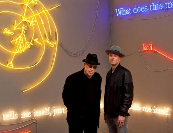 "Joseph Kosuth & James Lavelle: ""He´s incredibly sensitive.  We´re both emotional people"""