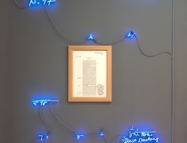 Joseph Kosuth: Hot, Bright, and Requiring Lots of Explanation