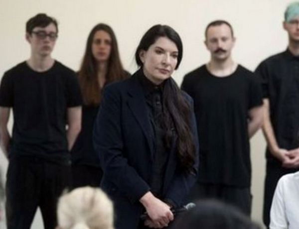 Marina Abramovic: Audience in tears at 'empty space' show