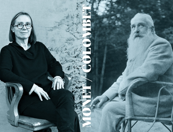THE UNEXPECTED DIALOGUES: Vicky Colombet / Claude Monet