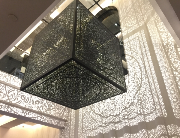 Anila Quayyum Agha Featured at Brooklyn Academy of Music (BAM), New York