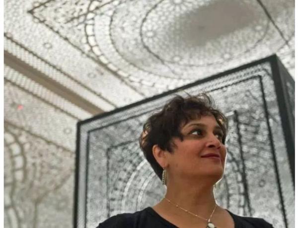 Anila Quayyum Agha Receives the 2017 Marjorie Schiele Prize at the Cincinnati Art Museum.