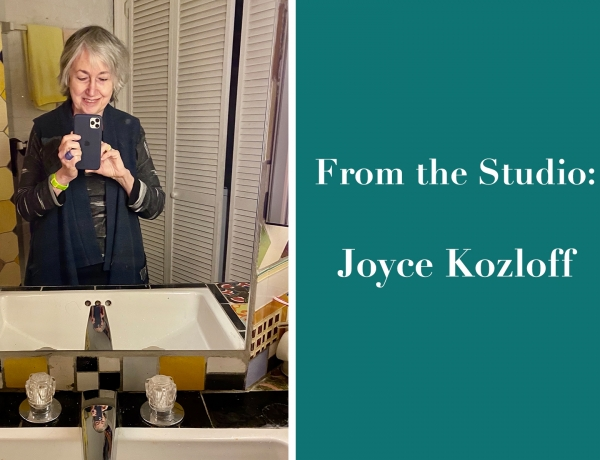 From the Studio: Joyce Kozloff