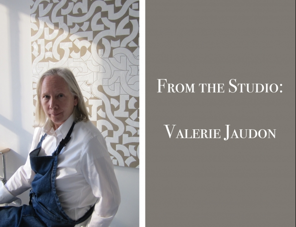 From the Studio: Valerie Jaudon
