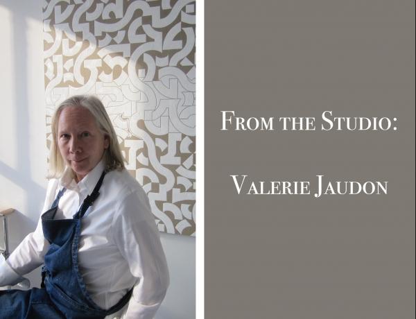 From the Studio: Valerie Jaudon