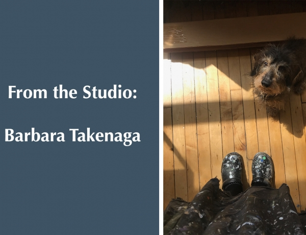 From the Studio: Barbara Takenaga