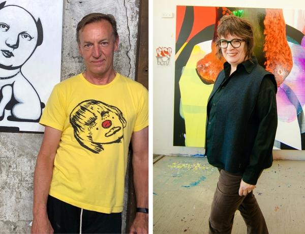 Artist Talk: Carrie Moyer in Conversation with David Humphrey