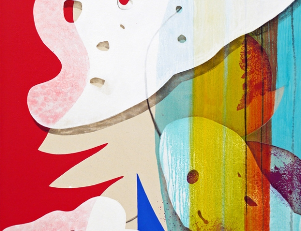 """Carrie Moyer in """"The Humanism of Abstraction"""""""