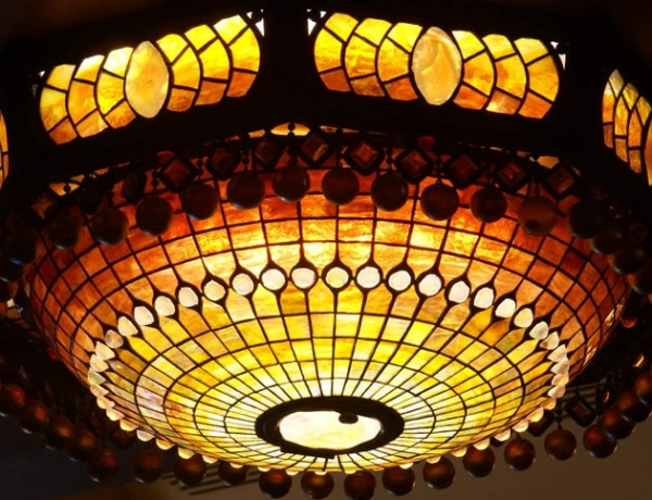 Stolen Tiffany Chandelier from The Belasco Theatre in NYC Resurfaces