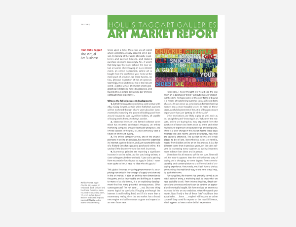 Art Market Report