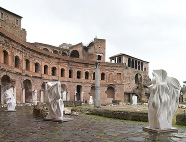 These Modern Sculptures Were Carved from the Same Marble as the Pantheon