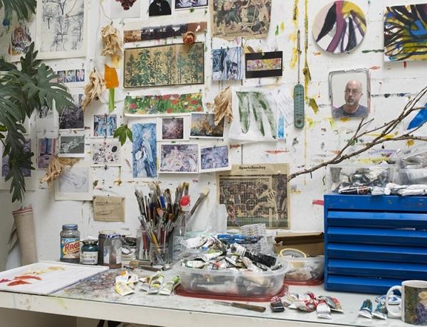 BILL SCOTT AT Rider University Art Gallery