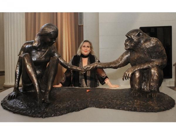 Portrait Sculpture by Marla Friedman