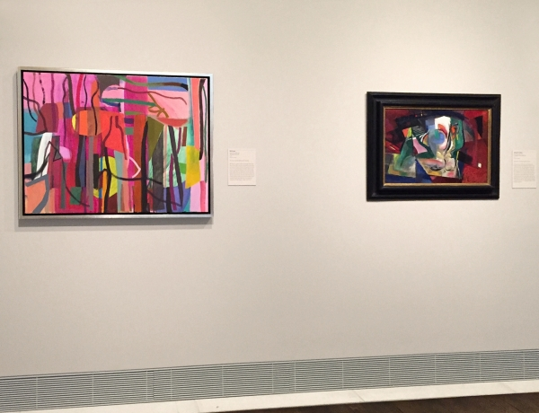 BILL SCOTT AT THE MUSEUM OF FINE ARTS, HOUSTON