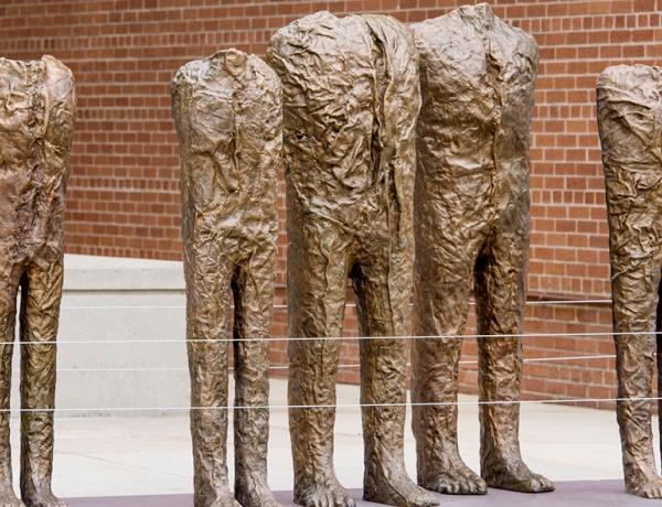 Magdalena Abakanowicz at Sculpture Milwaukee
