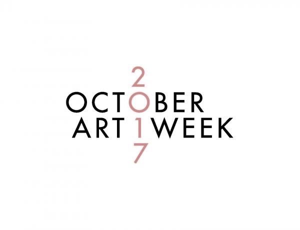 October Art Week logo