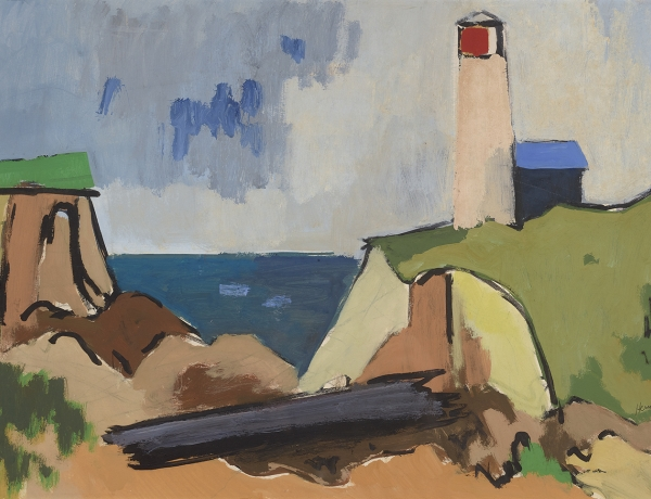 """Herman Maril: The Provincetown Paintings"" featured on Blouin Art Info"