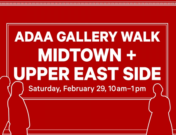 ADAA Gallery Walk