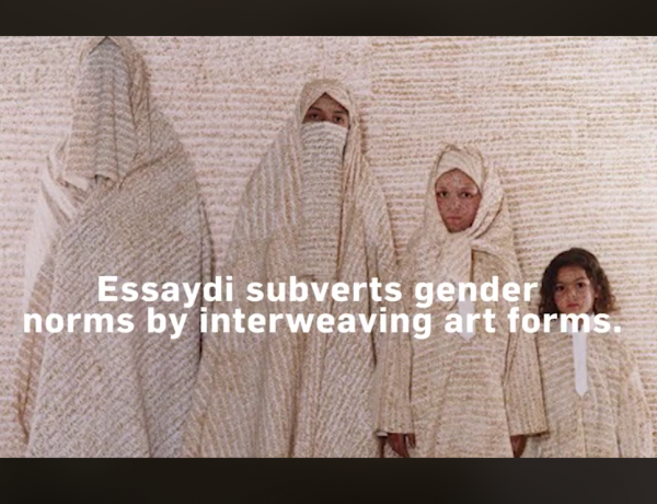 Lalla Essaydi in NMWA's #5WomenArtists