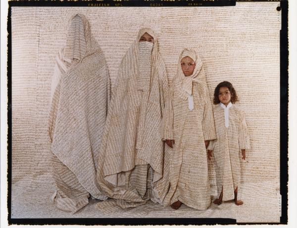 Lalla Essaydi in Musée Magazine