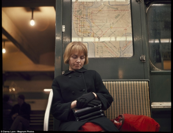 Tunnel Vision: Timeless portraits aboard New York City's subway in 1966 capture solitary passengers lost in thought