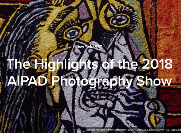 "Vik Muniz, Michael Eastman, and Abelardo Morell ""Highlights of AIPAD 2018"""