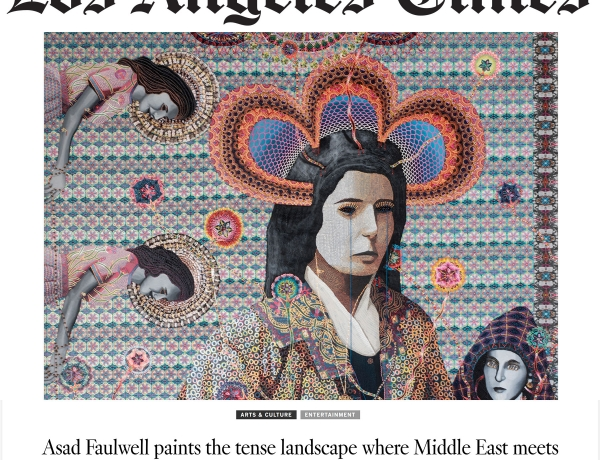 Asad Faulwell paints the tense landscape where Middle East meets America