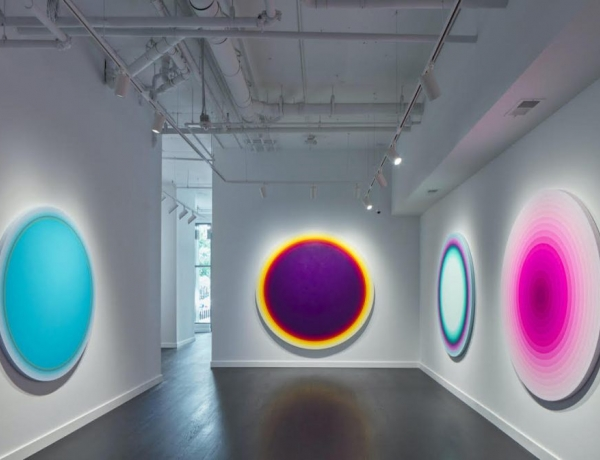 """""""Concentricities of Color,"""" Timothy App, BMoreArt, October 30, 2020."""