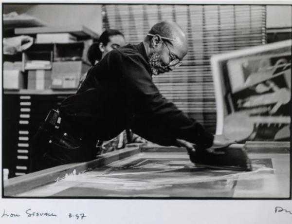 """Lou Stovall's Backyard Studio."" Robert Bettman, Washington Citypaper, January 14, 2021."