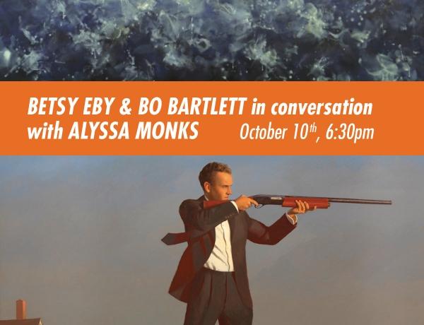 Betsy Eby & Bo Bartlett in conversation with Alyssa Monks