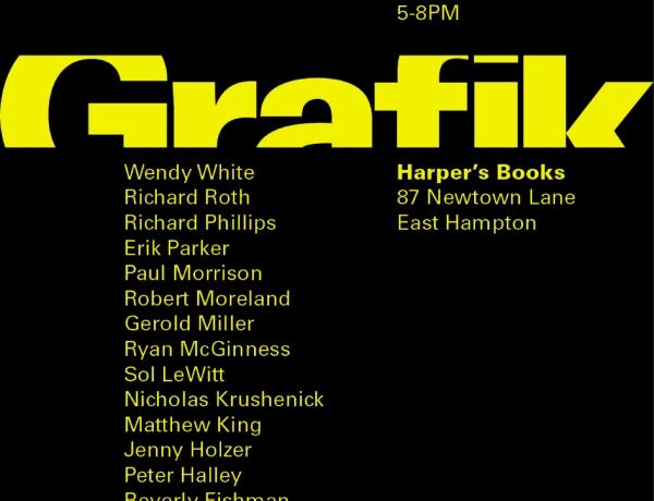Beverly Fishman at Grafik – Harper's Books