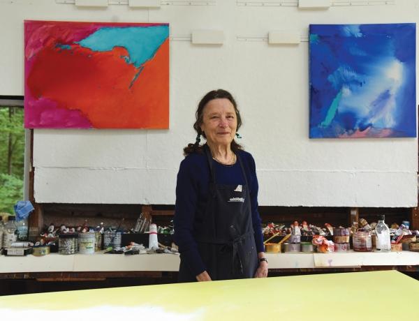 Emily Mason Artist Talk at Brattleboro Museum & Art Center