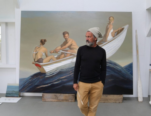 Maine Painter Bo Bartlett Goes Home to his Roots in Georgia, and Lends Name to New Art Center | Press Herald