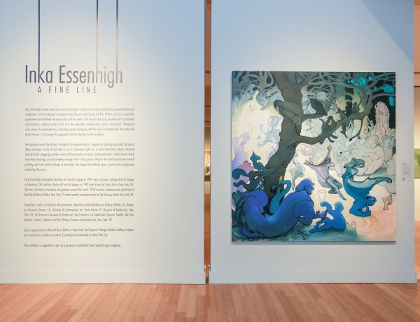 Virginia MOCA Presents Inka Essenhigh: A Fine Line