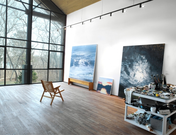 April Gornik represented by Miles McEnery Gallery