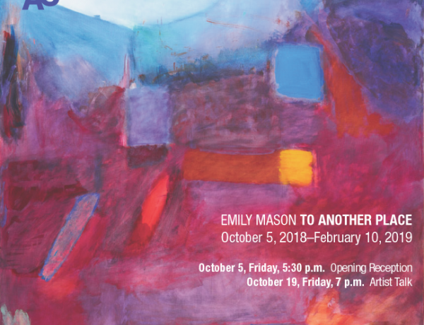 Emily Mason at Brattleboro Museum & Art Center