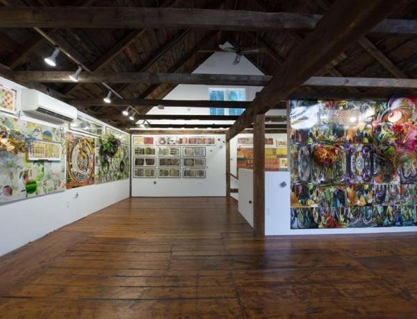 Judy Pfaff at Gaa Gallery Wellfleet