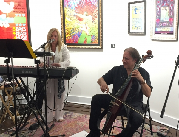 Reliving Woodstock at Bahr Gallery