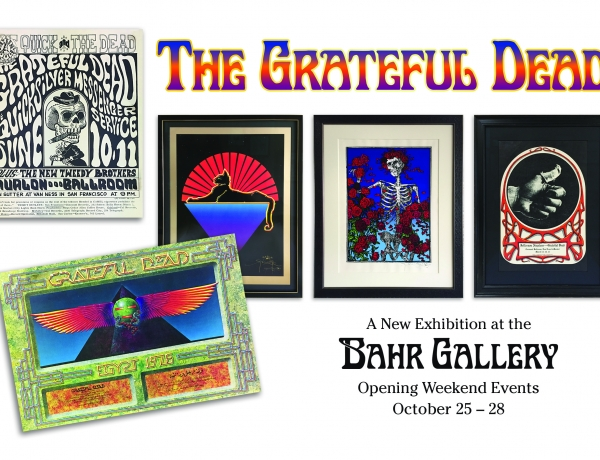 New Exhibition: The Art of the Grateful Dead