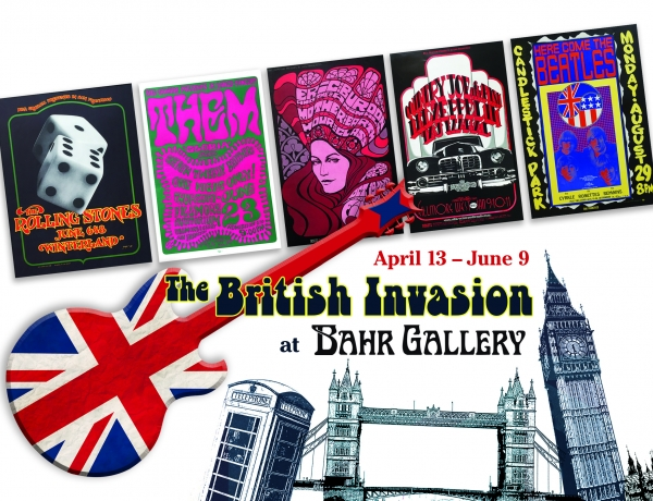 British Invasion Exhibition to Open April 13