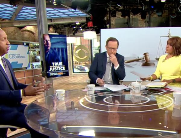 CBS NEWS: Bryan Stevenson talks new HBO documentary