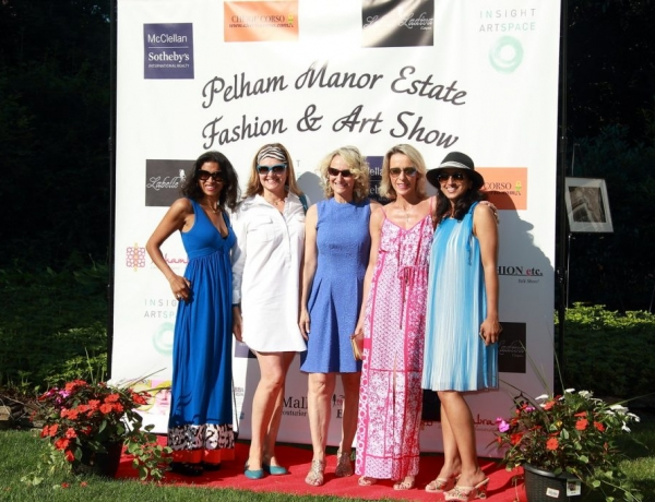 McClellan Sotheby's International Realty Hosts Pelham Manor Estate Art, Music & Fashion Show