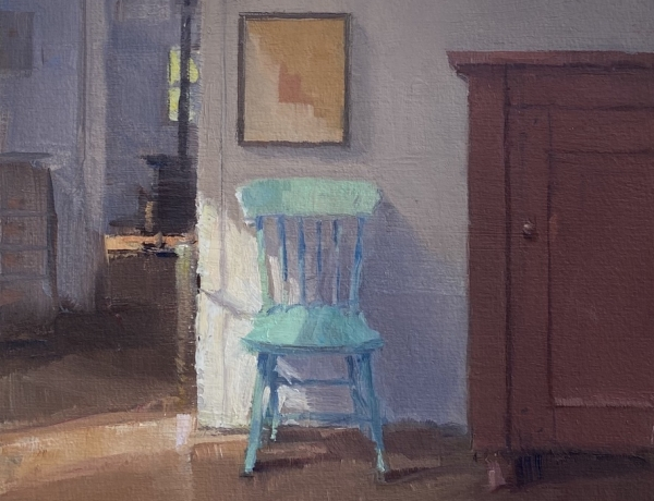 Jeffrey Reed Featured In Painting, An Impromptu Respite