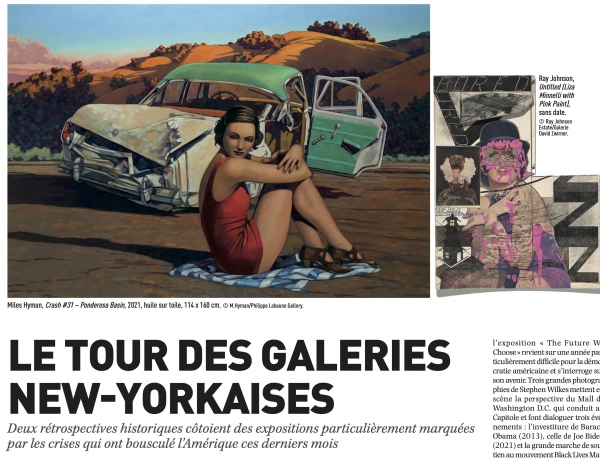 A Tour of New York Galleries (French)