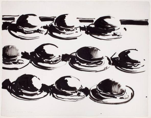 Wayne Thiebaud Exhibition at the Morgan Library
