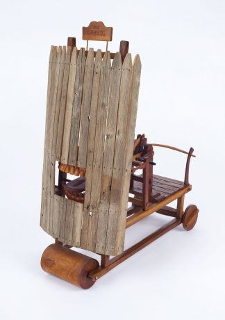 Roy Superior: Patent Models For a Good Life at The Center for Art in Wood, Philadelphia