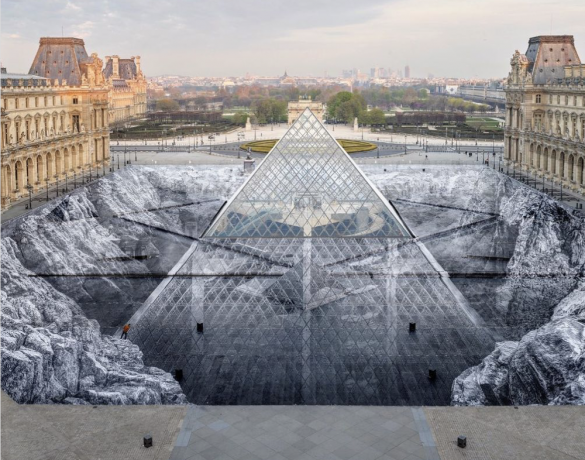 First the Louvre' pyramid, now the actual Pyramids—JR to create show-stopping project in Egypt